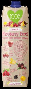100% Raspberry Beret ORGANIC