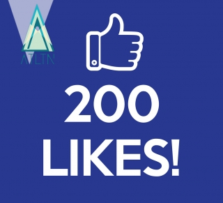 200 polubień na Facebooku