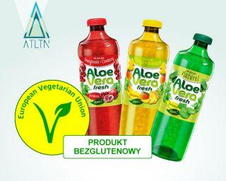 Aloe Vera Fresh - napój bezglutenowy i wegetariański