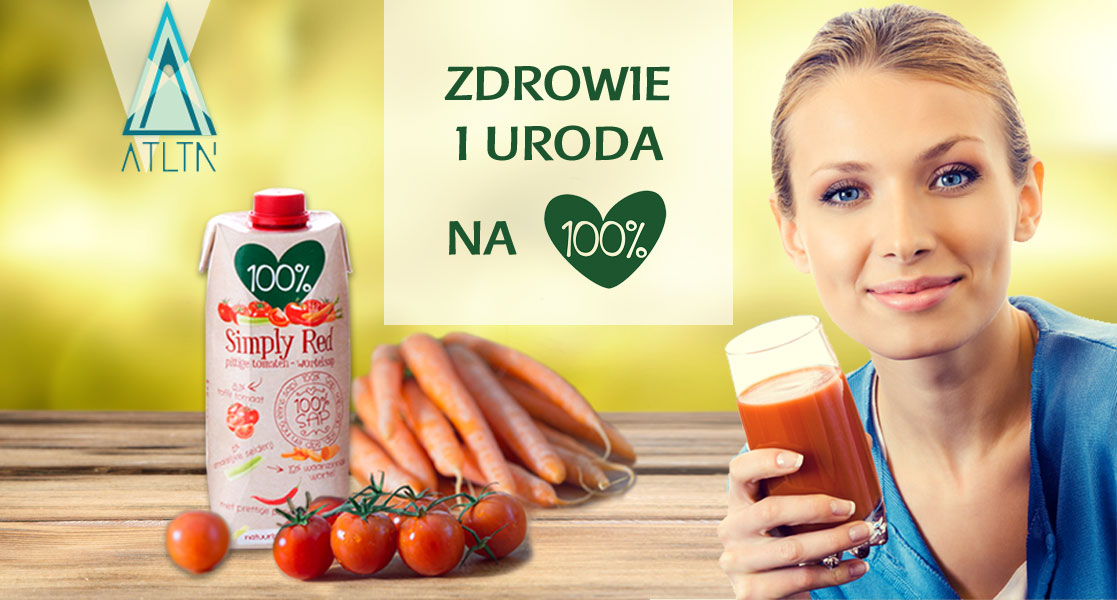 Sok pomidorowo-marchewkowy Simply Red